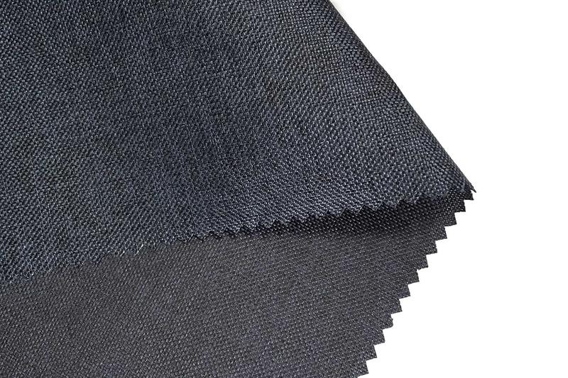 600D/62T Cation 100% RPET Fabric With PU Coated